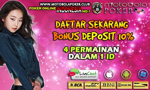 Poker Online Indonesia banyak Bonus Deposit